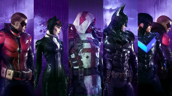 Скриншот №1 к Batman™ Arkham Knight - Crime Fighter Challenge Pack 4