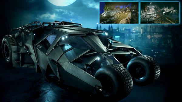 Скриншот №1 к Batman™ Arkham Knight - 2008 Tumbler Batmobile Pack