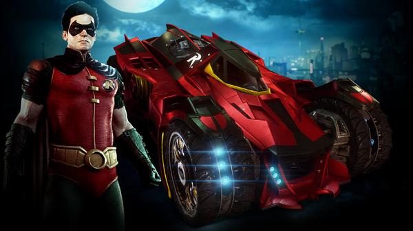 Скриншот №1 к Batman™ Arkham Knight - Robin and Batmobile Skins Pack