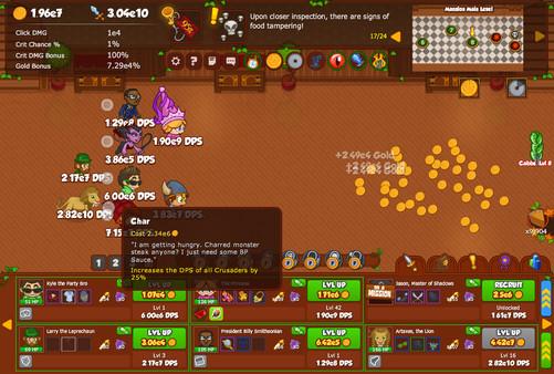 Crusaders of the Lost Idols Screenshot
