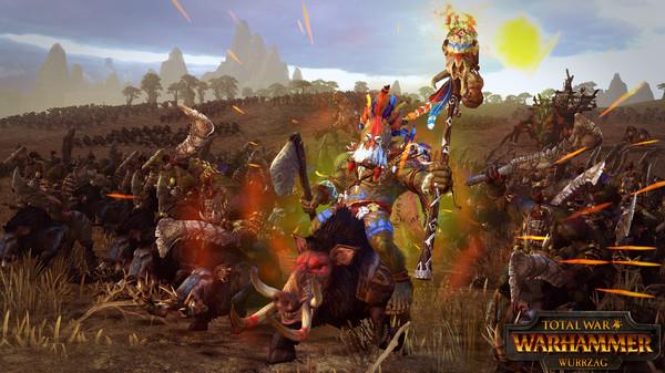 Скриншот №1 к Total War WARHAMMER - Wurrzag