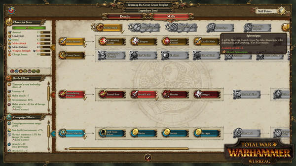Скриншот №3 к Total War WARHAMMER - Wurrzag