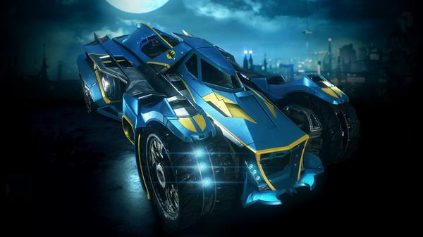 Скриншот №1 к Batman™ Arkham Knight - 1970s Batman Themed Batmobile Skin