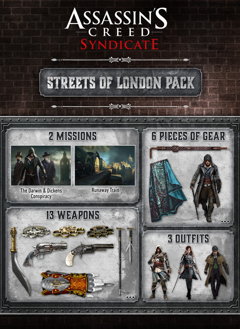 KHAiHOM.com - Assassin's Creed® Syndicate - Streets of London Pack