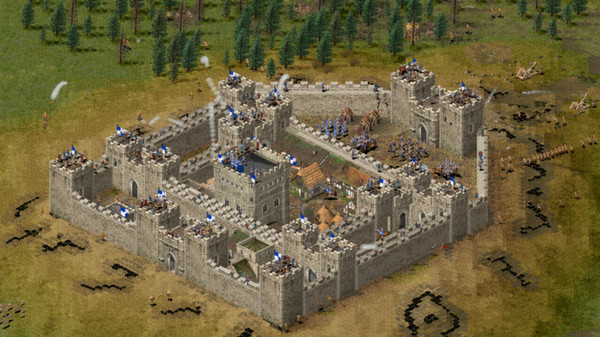 Скриншот №10 к Stronghold HD