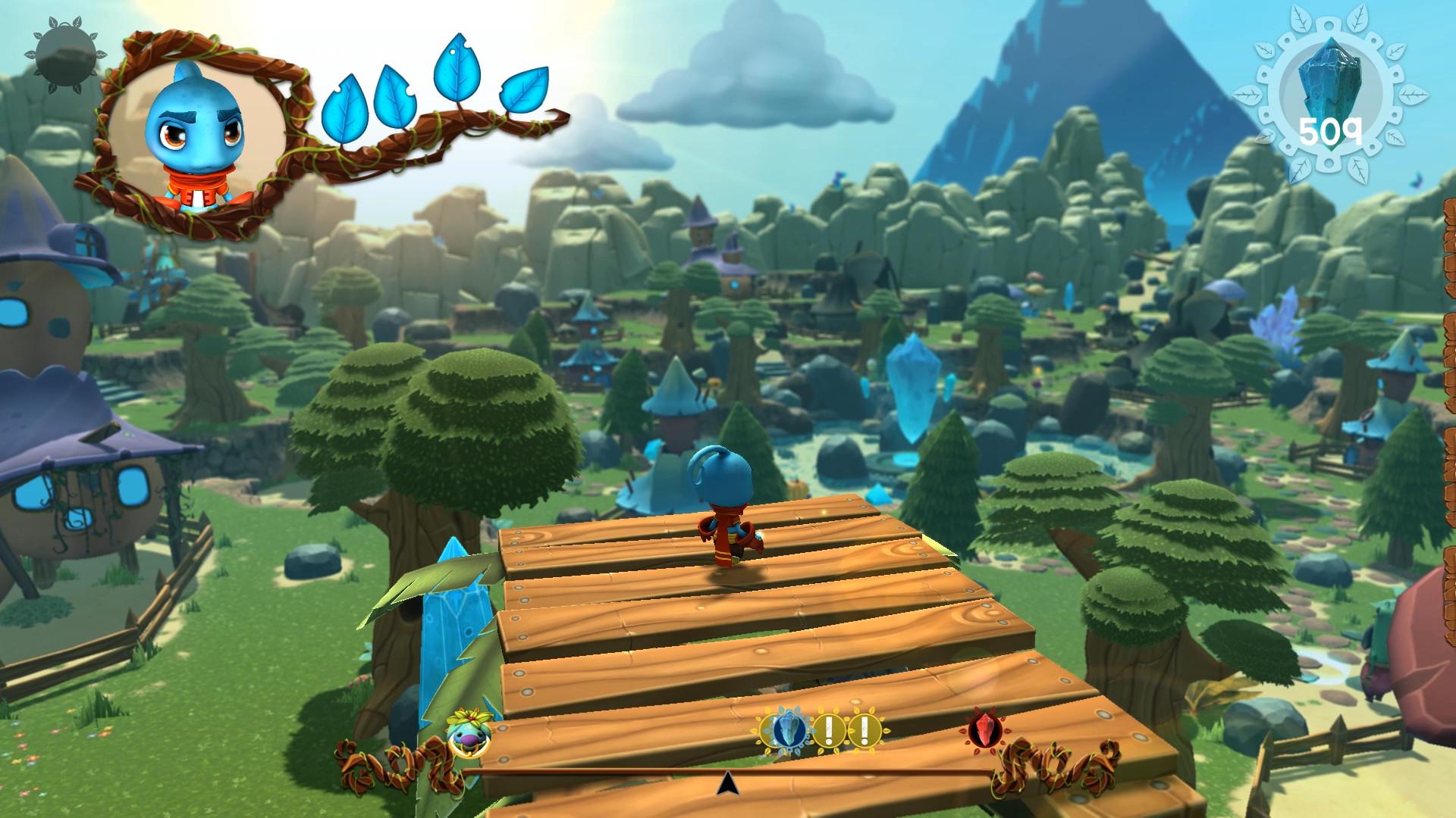Ginger: Beyond the Crystal Screenshot 1
