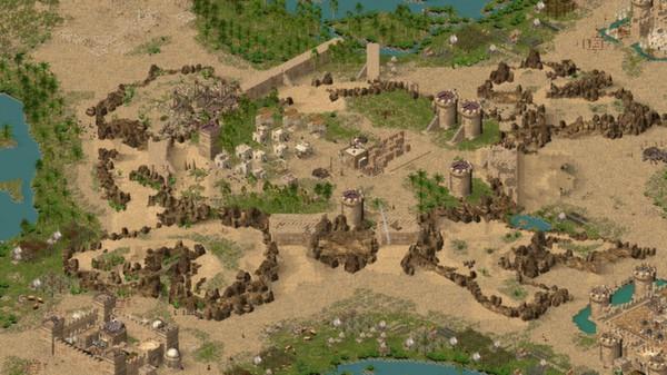 Screenshot of Stronghold Crusader HD