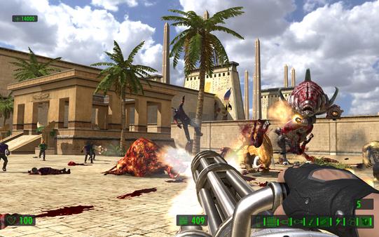 Скриншот №1 к Serious Sam HD The First Encounter
