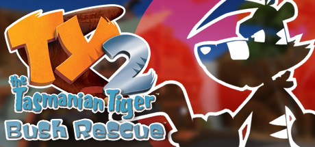 TY the Tasmanian Tiger 2 Cover Image