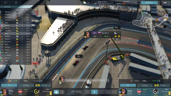 Скриншот №8 к Motorsport Manager