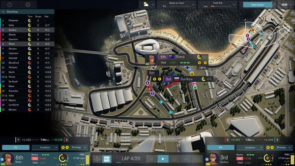 Скриншот №10 к Motorsport Manager