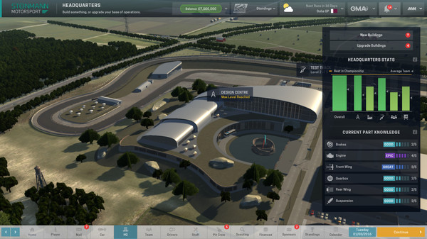 Скриншот №4 к Motorsport Manager