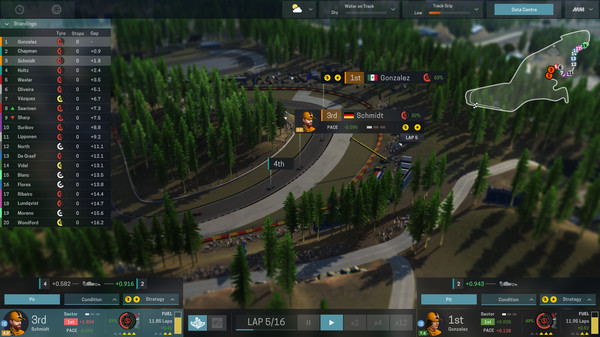 Скриншот №6 к Motorsport Manager