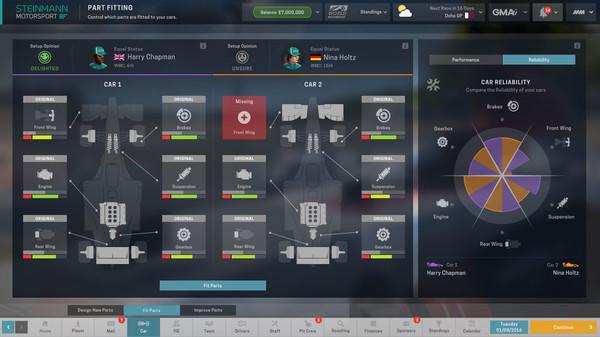 Скриншот №5 к Motorsport Manager