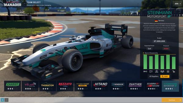 Скриншот №1 к Motorsport Manager