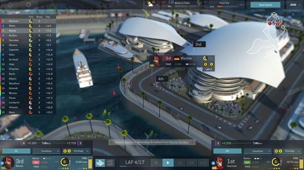 Скриншот №2 к Motorsport Manager