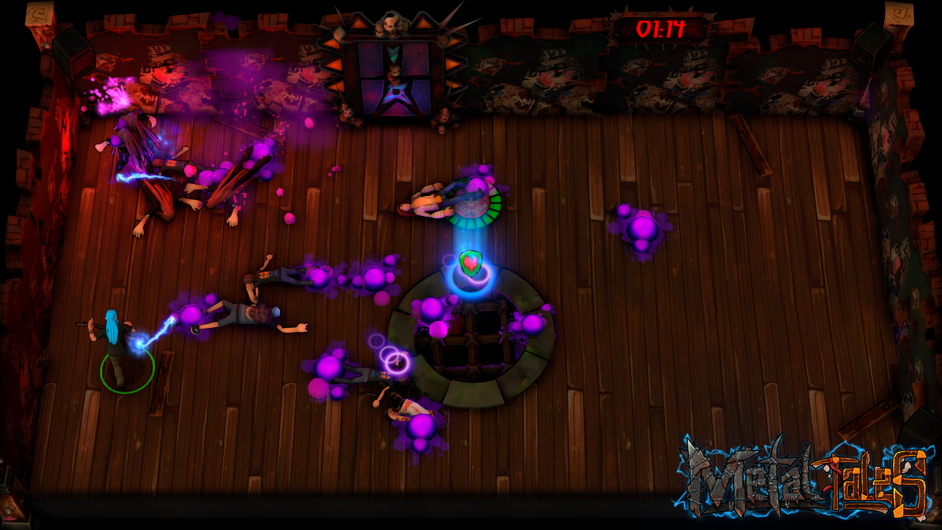 Metal Tales: Fury of the Guitar Gods Screenshot 2