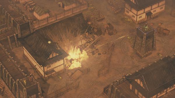 Screenshot of Shadow Tactics: Blades of the Shogun
