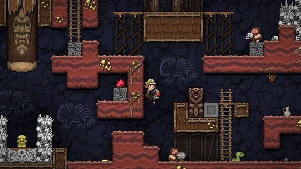 Скриншот №1 к Spelunky 2