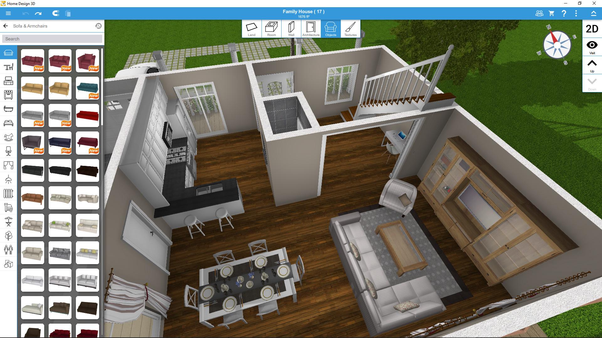 Home Design 20D bei Steam