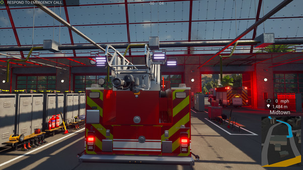 Скриншот №2 к Firefighting Simulator - The Squad
