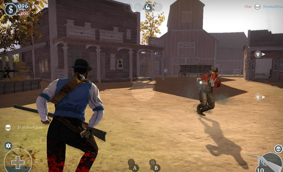 скриншот Lead and Gold: Gangs of the Wild West 2