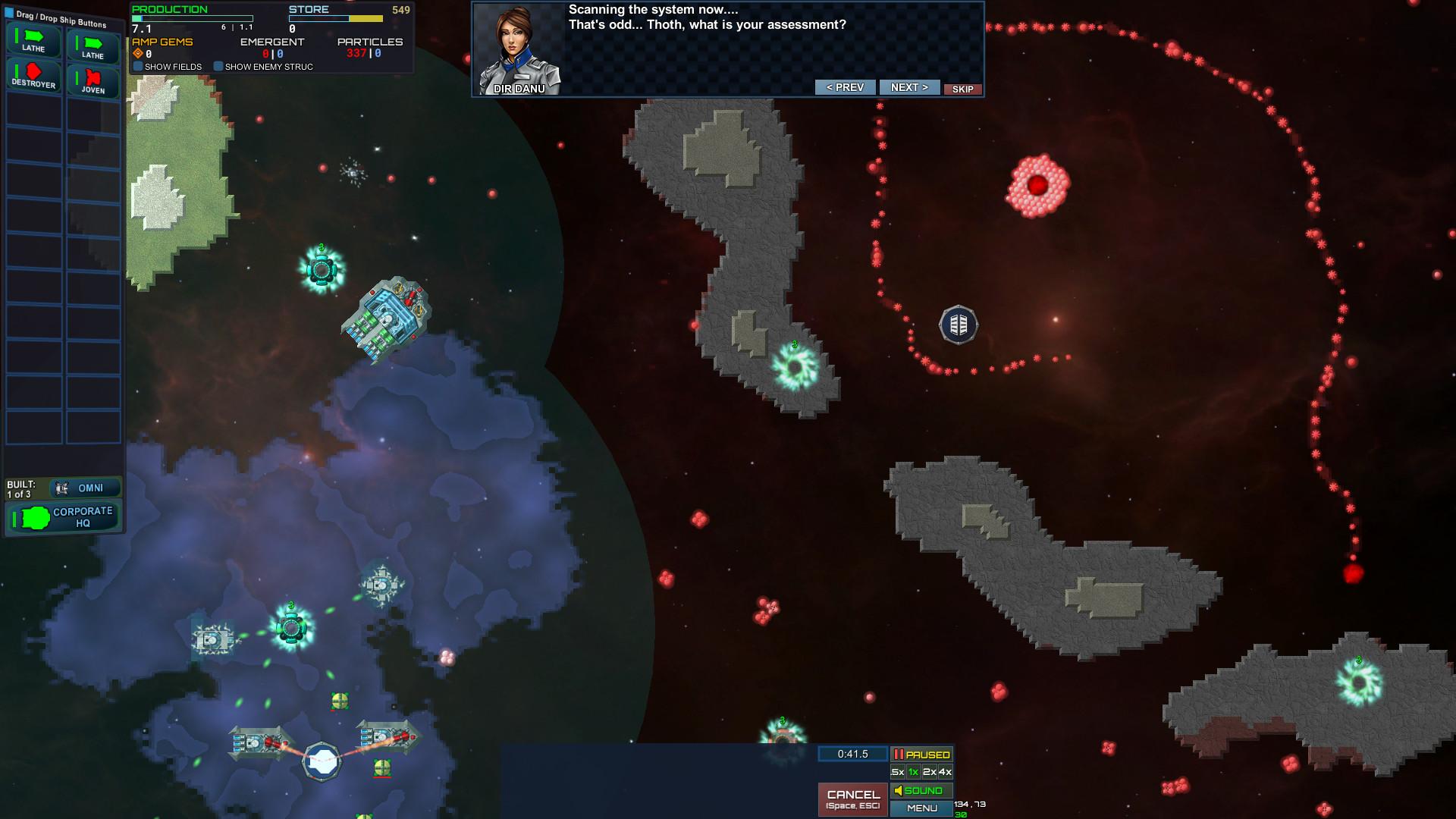 Particle Fleet Emergence Screenshot 3