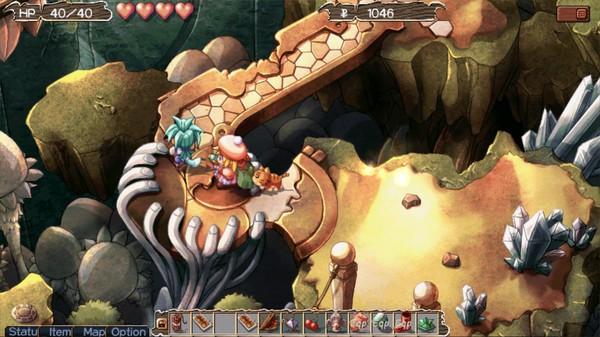Screenshot of Zwei: The Arges Adventure