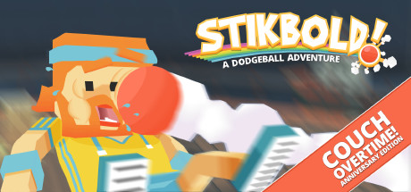 Stikbold! A Dodgeball Adventure Cover Image