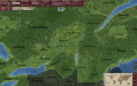 скриншот Victoria II 0