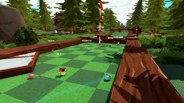 Screenshot of Golf With Your Friends