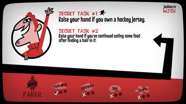 Скриншот №2 к The Jackbox Party Pack 3