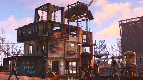 Скриншот №3 к Fallout 4 - Wasteland Workshop