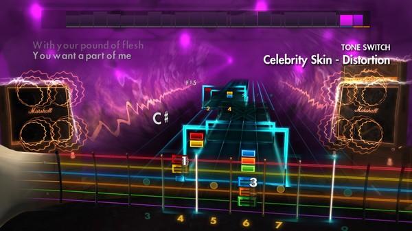 "Скриншот №2 к Rocksmith® 2014 – Hole - ""Celebrity Skin"""