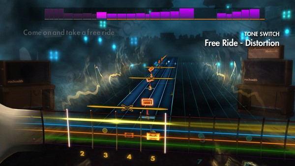 "Скриншот №1 к Rocksmith® 2014 – Edgar Winter - ""Free Ride"""