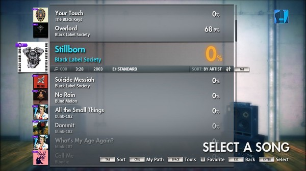"Скриншот №3 к Rocksmith® 2014 – Black Label Society - ""Stillborn"""