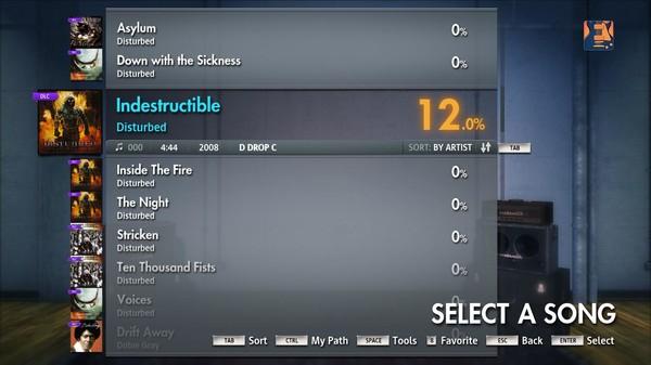 "Скриншот №5 к Rocksmith® 2014 – Disturbed - ""Indestructible"""