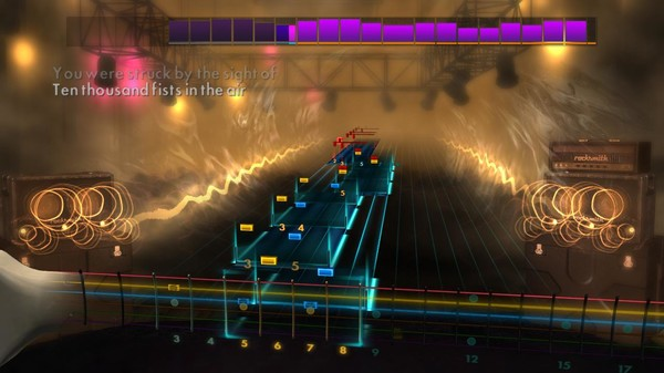 "Скриншот №2 к Rocksmith® 2014 – Disturbed - ""Ten Thousand Fists"""