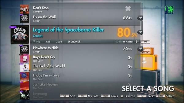 "Скриншот №3 к Rocksmith® 2014 – Crobot - ""Legend of the Spaceborne Killer"""