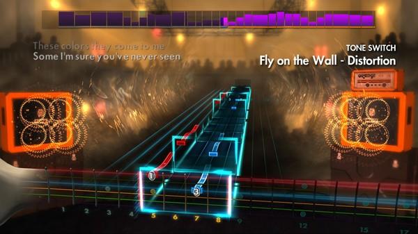 "Скриншот №4 к Rocksmith® 2014 – Crobot - ""Fly on the Wall"""