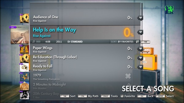 """Скриншот №2 к Rocksmith® 2014 – Rise Against - """"Help Is On The Way"""""""