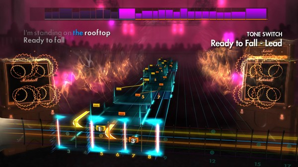 """Скриншот №5 к Rocksmith® 2014 – Rise Against - """"Ready to Fall"""""""