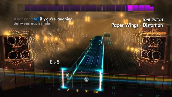 "Скриншот №4 к Rocksmith® 2014 – Rise Against - ""Paper Wings"""