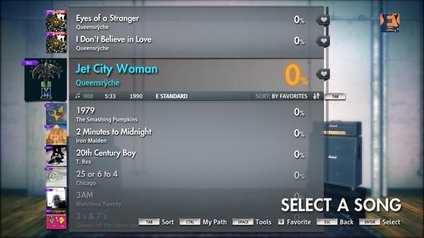 "Скриншот №3 к Rocksmith® 2014 – Queensrÿche - ""Jet City Woman"""