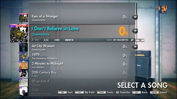 "Скриншот №2 к Rocksmith® 2014 – Queensrÿche - ""I Dont Believe in Love"""