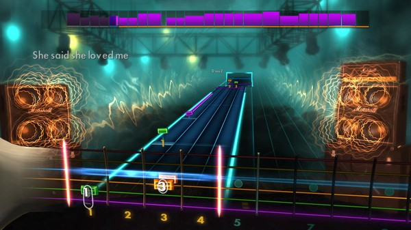 Скриншот №2 к Rocksmith® 2014 – Queensrÿche Song Pack