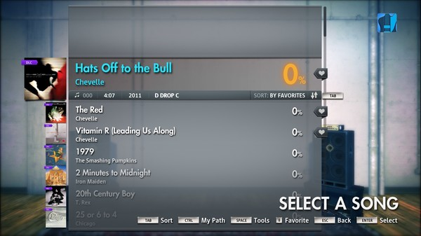 """Скриншот №4 к Rocksmith® 2014 – Chevelle - """"Hats Off to the Bull"""""""