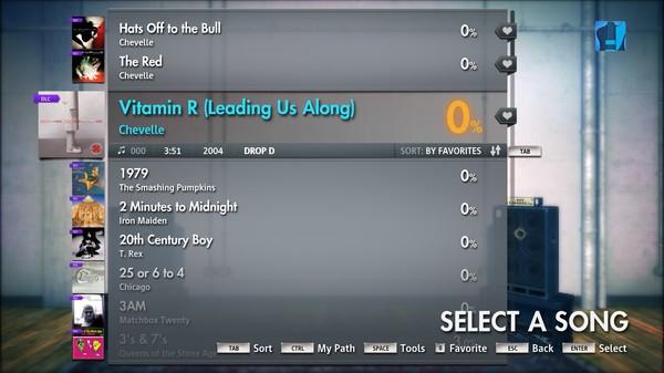 "Скриншот №5 к Rocksmith® 2014 – Chevelle - ""Vitamin R Leading Us Along"""