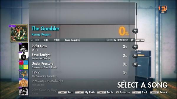 "Скриншот №5 к Rocksmith® 2014 – Kenny Rogers - ""The Gambler"""