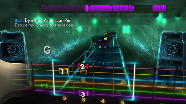 "Скриншот №3 к Rocksmith® 2014 – Don McLean - ""American Pie"""